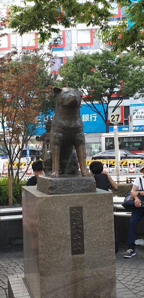 Hachiko à Shibuya