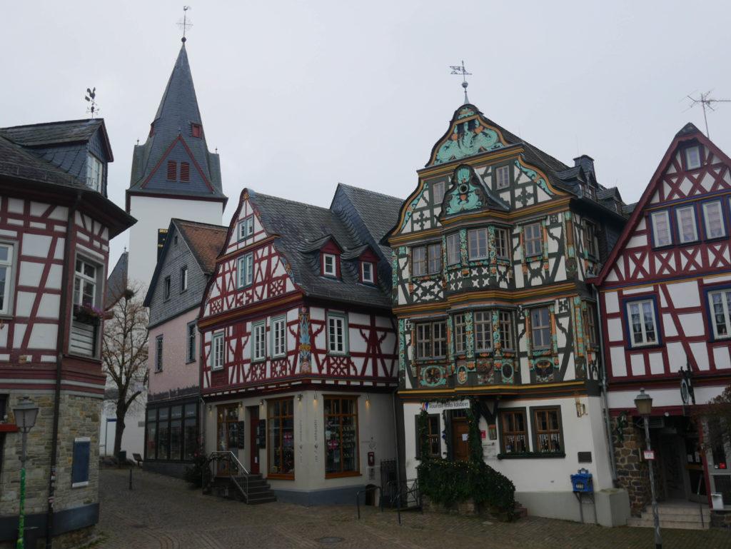 Idstein, sur la route allemande des maisons à colombage
